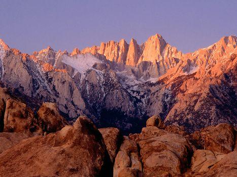 Бесплатные фото горы,камни,пик,снег,небо,высоко,природа