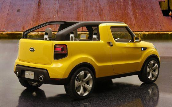 Фото бесплатно желтый, без крыши, диски