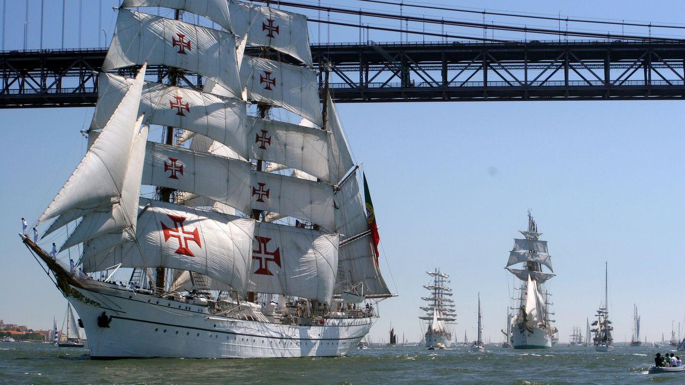 Фото бесплатно корабли, паруса, море - на рабочий стол