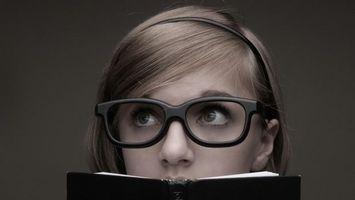 Фото бесплатно очки, глаза, взгляд