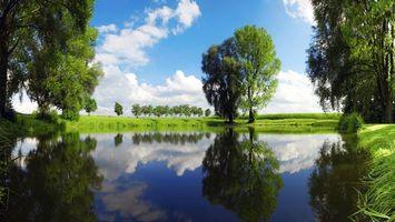 Бесплатные фото природа,озеро,деревья,пейзажи