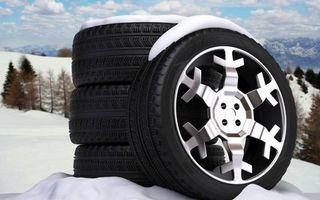 Бесплатные фото резина, шины, покрышки, протектор, диски, снежинки, снег