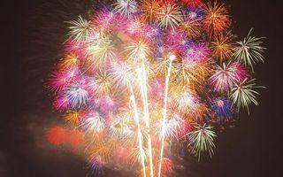 Фото бесплатно салют, фейерверк, свет, огни, искры, взрыв, небо, радость, цвета, праздники