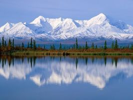 Photo free water, mountains, snow