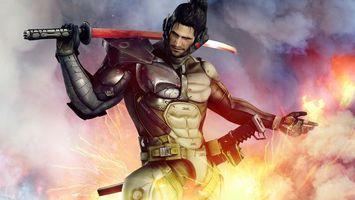 Фото бесплатно воин, меч, доспехи