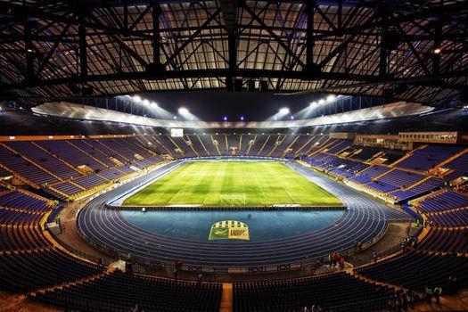 Photo free metalist stadium kharkiv, metal player, stadium euro 2012
