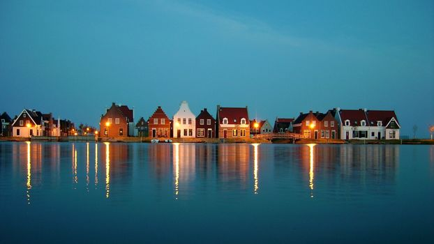 Фото бесплатно побережье, дома, коричневый