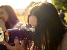 Бесплатные фото фотоаппарат,canon,объектив,снимок,девушки,лучи,солнце