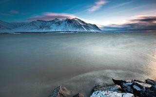 Бесплатные фото горы,море,океан,вода,волны,небо,облака