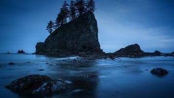 Фото бесплатно море, камни, остров