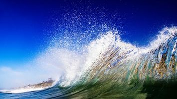 Фото бесплатно волны, вода, небо