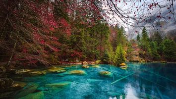 Фото бесплатно озеро, Кандерштег, Швейцария