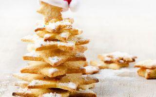 Бесплатные фото печенье,сладости,десерт,сахар,фигура,звезда,еда