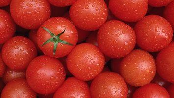 Фото бесплатно помидоры, черри, томаты