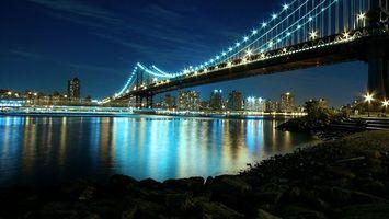 Бесплатные фото река,вода,берег,подсветка,город,огни,набережная