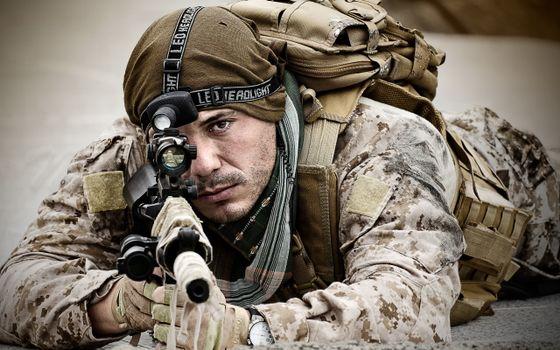 Photo free soldier, warrior, gun