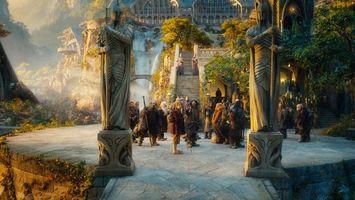 Бесплатные фото властелин колец,хоббиты,статуи,воины,крепость,сказка,фильмы