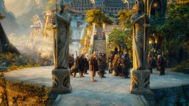 Photo free lord of the rings, hobbits, statues