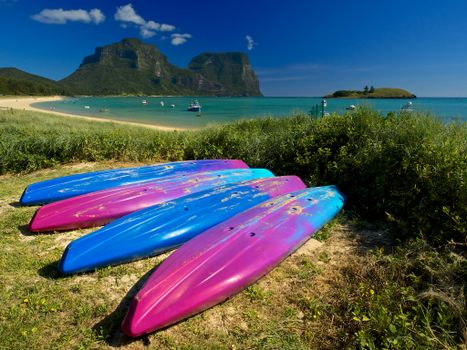 Бесплатные фото Австралия,Остров Лорд-Хау,Новый Южный Уэльс,море,берег,лодки,пейзаж