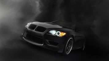 Photo free bmw, black, matte
