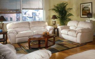 Фото бесплатно диван, кожа, стол