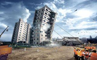 Фото бесплатно дома, рушат, строители