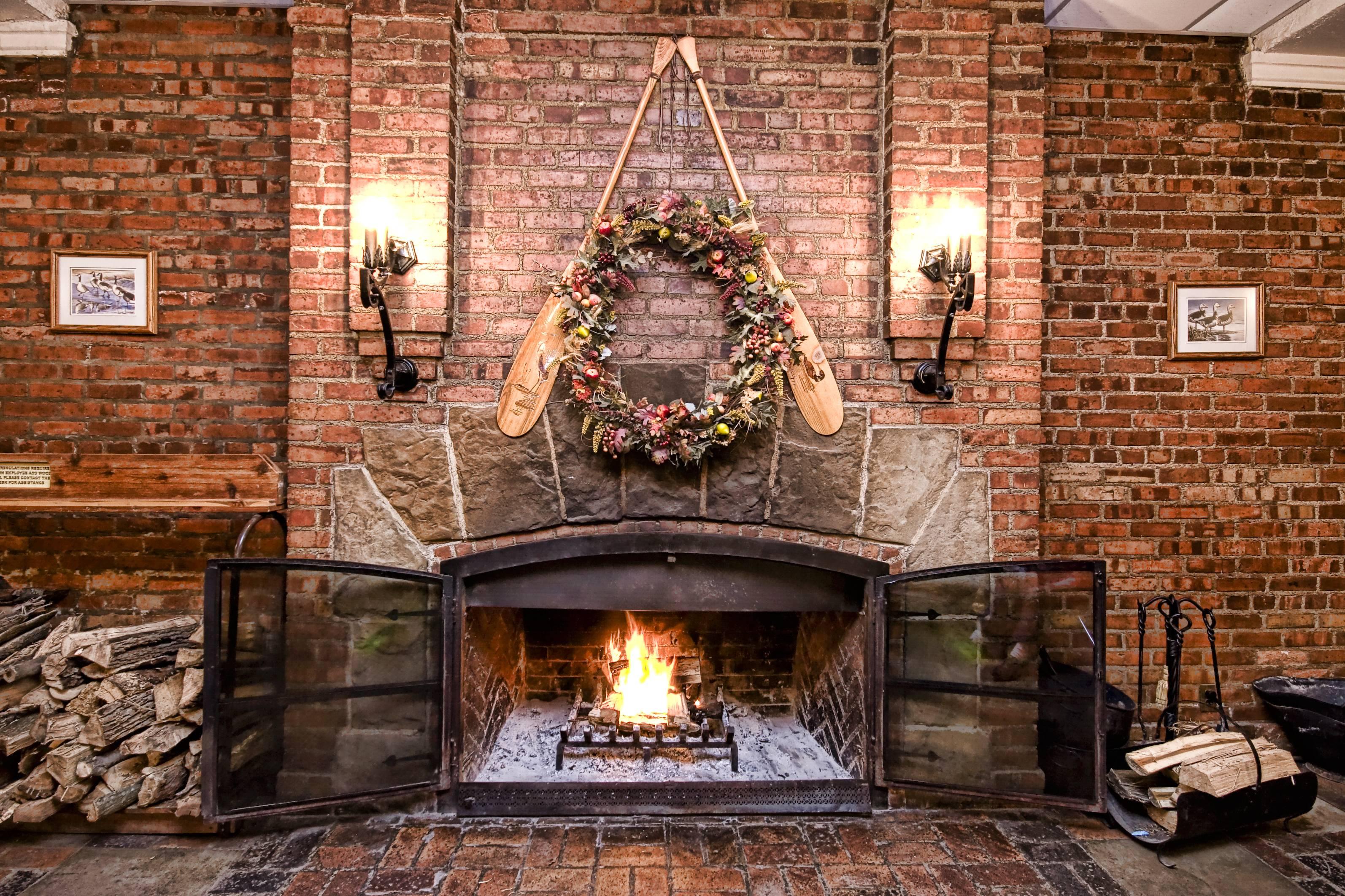 обои камин, печь, огонь, дрова картинки фото