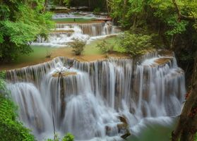 Photo free Kanchanaburi, Thailand, waterfall