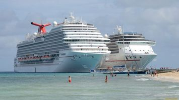 Photo free ship, large, sea