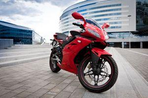 Бесплатные фото минск,красный,город,мотоциклы