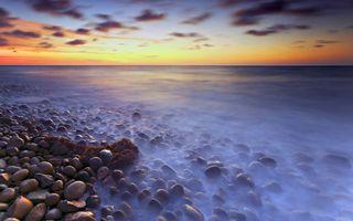 Фото бесплатно море, камни, небо