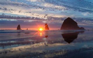 Заставки океан, берег, скалы