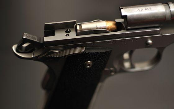 Бесплатные фото пистолет,револьвер,калибр,пуля,выстрел,обойма,курок,гравировка,надпись,оружие