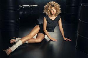 Фото бесплатно красотка, модель, красивая девушка