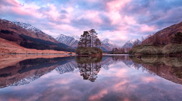 Photo free Scotland, highlands Glen Etive, mountains