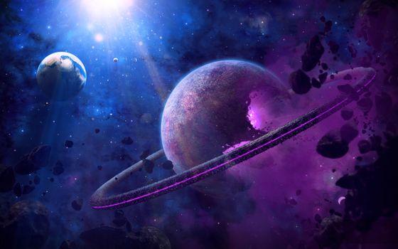 Картинки на заставку планеты, космос бесплатно