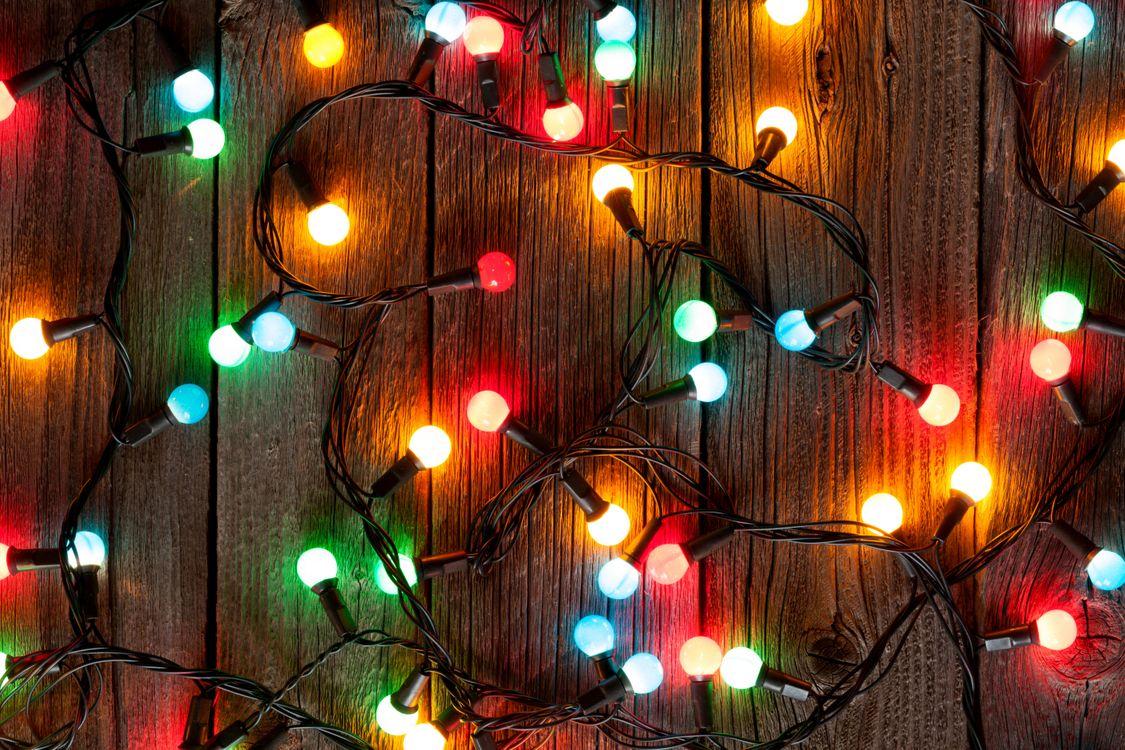 Фото бесплатно Рождество, фон, дизайн, элементы, гирлянды, новогодние обои, новый год, украшения, новый год