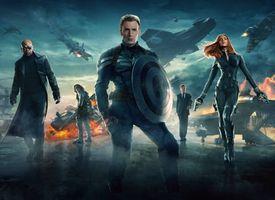 Бесплатные фото Первый мститель: Другая война, фантастика, боевик, приключения, фильм, кинофильм, кино