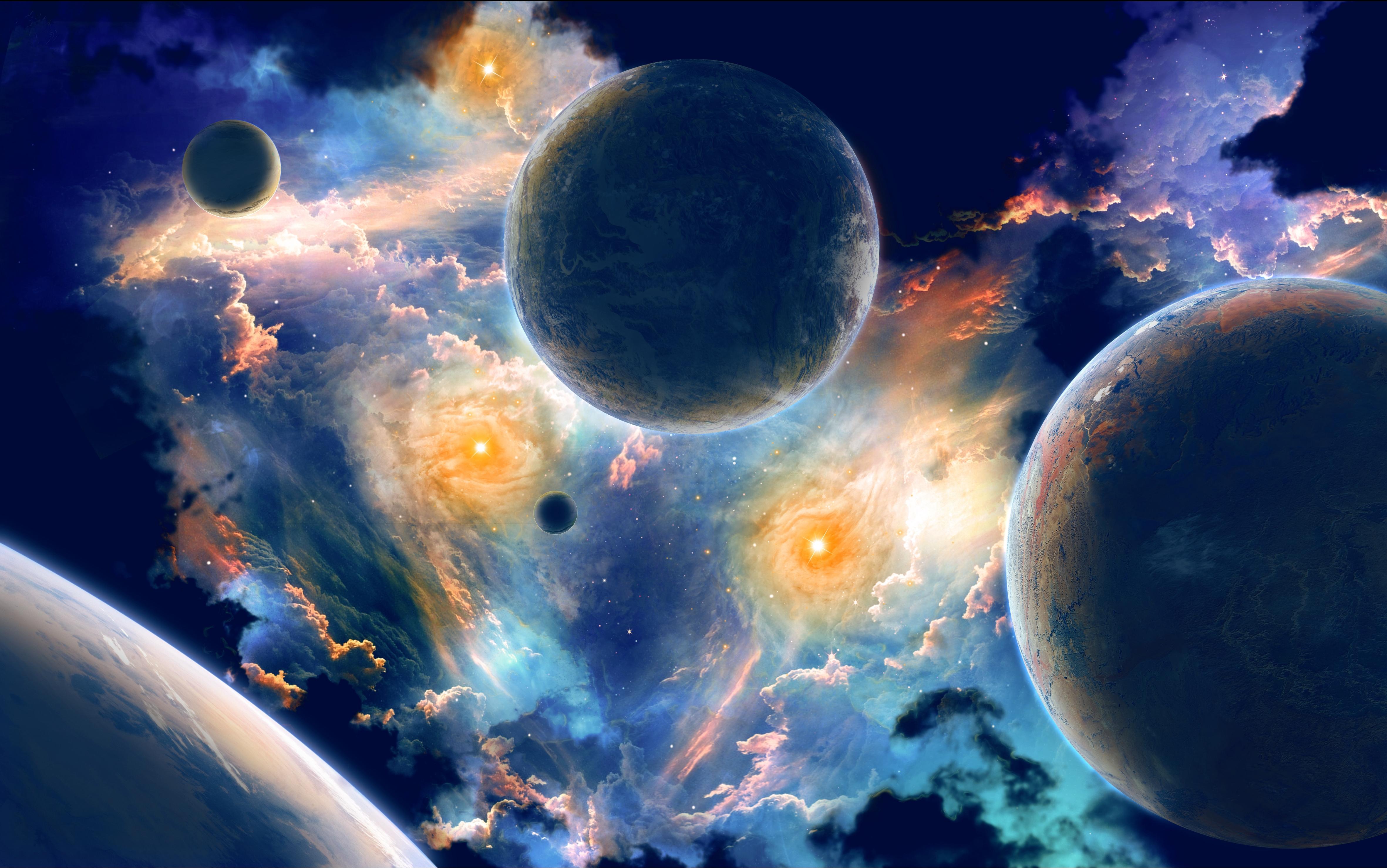 космос, вселенная, планеты