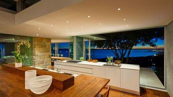 Фото бесплатно кухня, стол, посуда