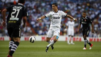 Photo free ronaldo, football players, ball
