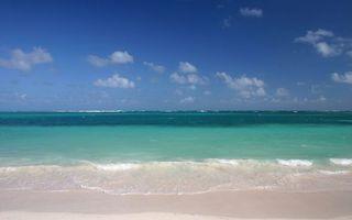 Бесплатные фото тропики,берег,песок,море,волны,горизонт,небо