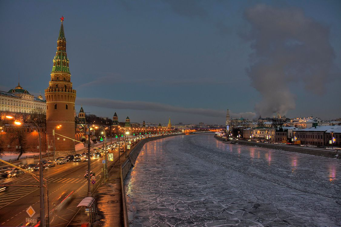 Free photo Moscow, Russia, The Kremlin - to desktop
