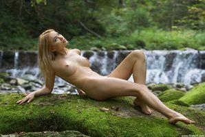 Фото бесплатно обнаженная девушка, Lia May, красотка