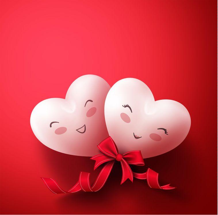 Открытка день влюбленных валентина, марта