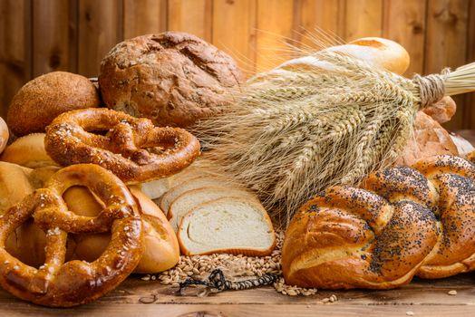 Бесплатные фото кренделя,колосья,хлеб,еда