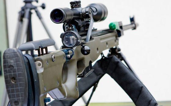 Photo free rifle, sniper, butt