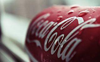 Фото бесплатно Coca-Cola, банка, капли