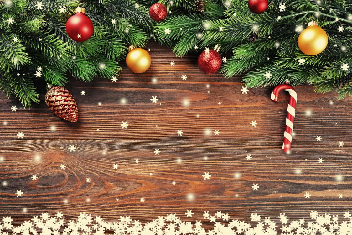 Фото бесплатно Рождество, фон, дизайн, элементы, игрушки, новогодние обои, новый год, украшения, еловые ветки, новый год