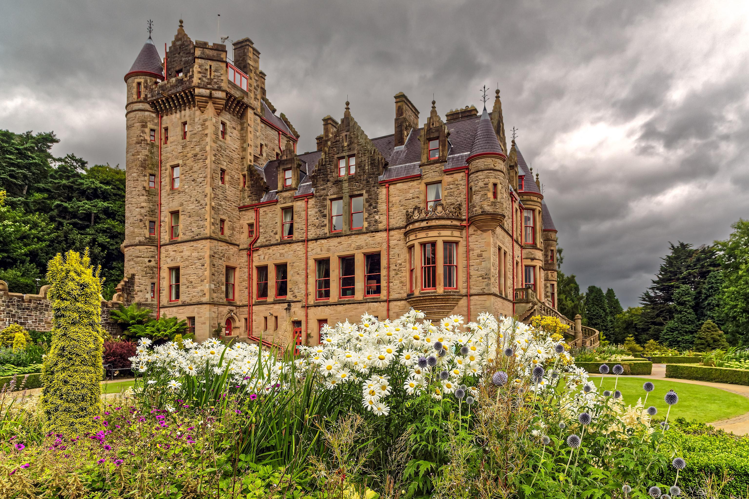 обои Замок Белфаст, Белфаст, Северная Ирландия картинки фото